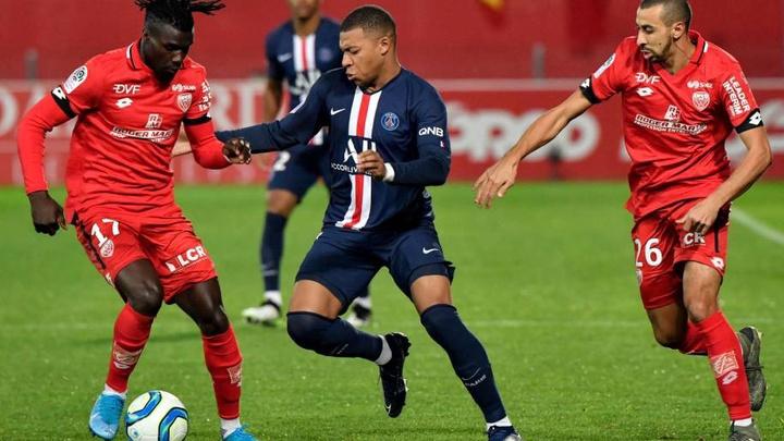 Thành tích đối đầu Brest vs PSG