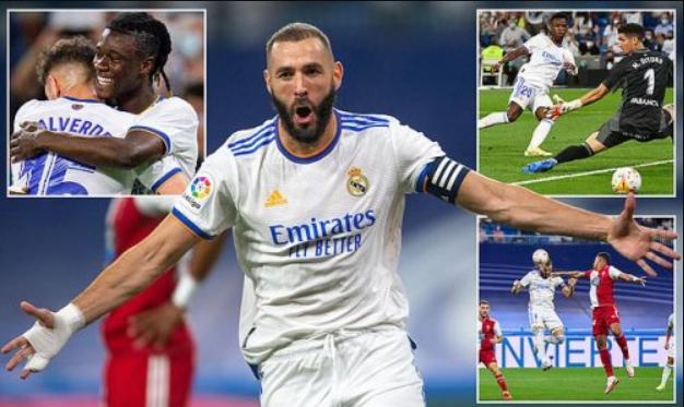 Benzema nã hat-trick, Real thắng tưng bừng Celta Vigo tại Bernabeu