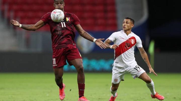 Kết quả Peru vs Venezuela, vòng loại World Cup 2022
